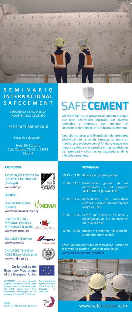POSTER Seminario Int SAFECEMENT ES v1